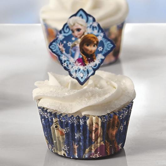 cupcake da Frozen doce personalizado