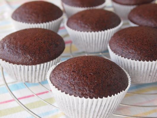 Cupcake de Chocolate macio