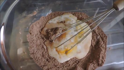 Cupcake de Chocolate massa feita a mão