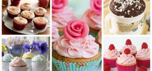 como fazer cupcake de microondas