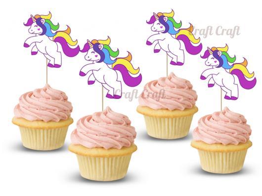 Cupcake de Unicórnio topper