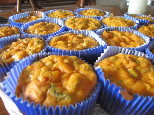 Cupcake Salgado de Legumes