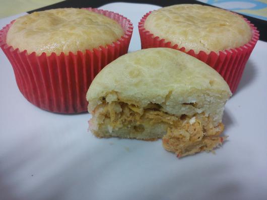 Cupcake Salgado de Frango