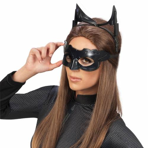 Fantasia Mulher Gato Simples com máscara preta