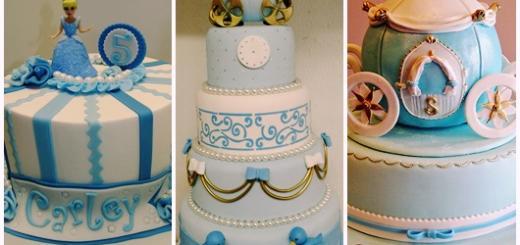 Festa Cinderela modelos de bolo decorado