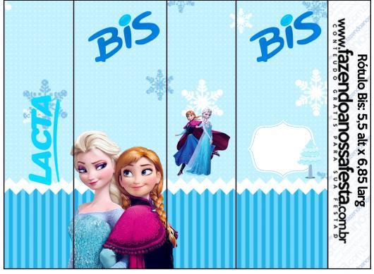 Kit Festa Infantil para Imprimir Frozen