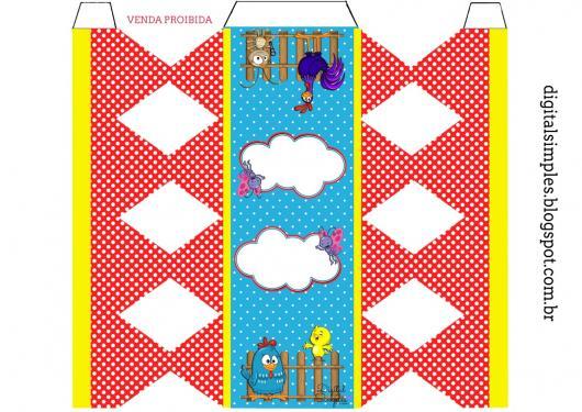 Kit Festa Infantil para Imprimir Galinha Pintadinha