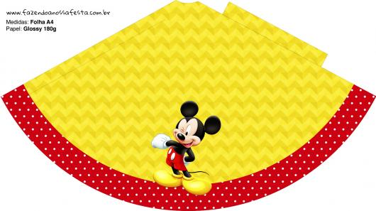 Kit Festa Infantil para Imprimir Mickey