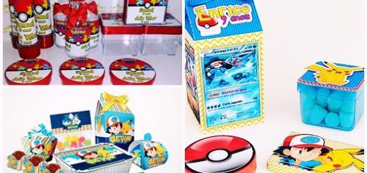 Kit Festa Infantil pokémon