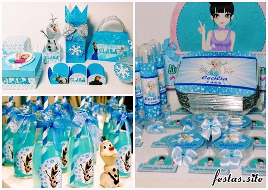 Kit Festa Infantil frozen
