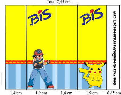 Kit Festa Infantil para Imprimir Pokémon