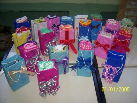 Lembrancinha com Caixa de Leite para Dia das Mães para colocar perfume
