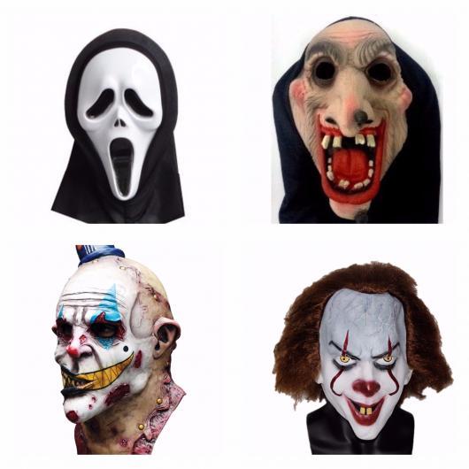 80 Máscaras De Terror Assustadoras Para Halloween Como