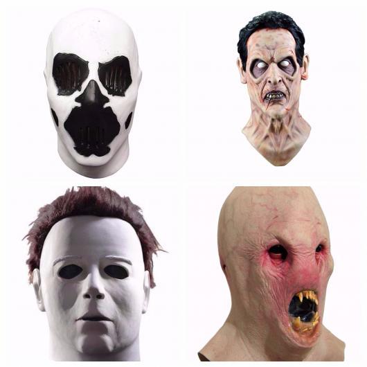 tipos de máscaras de Halloween