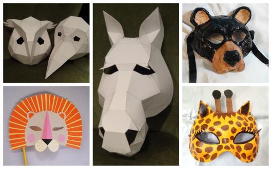 781e83d22 Conheça uma seleção incrível de máscaras de papel!