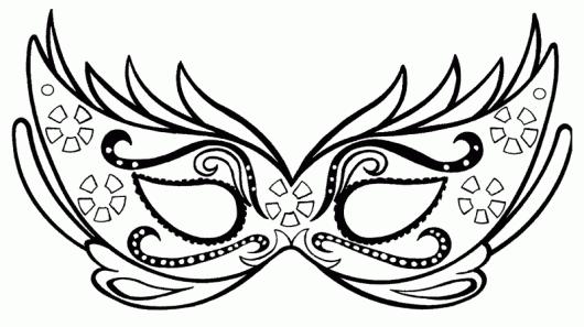 Moldes de Máscara de Carnaval divertidas