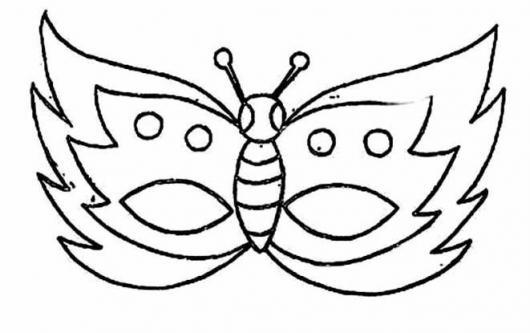 Moldes De Mascara De Carnaval De 40 Tipos Para Voce Imprimir E