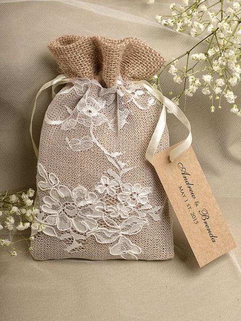 Recuerdos Para Matrimonio Rustico : Saquinhos para lembrancinhas inspire se com ideias