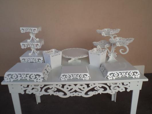 kit festa provençal completo branco