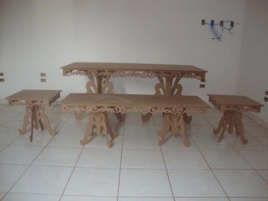 mesas para kit festa provençal