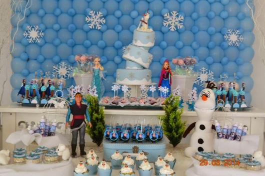 kit festa provençal na festa frozen