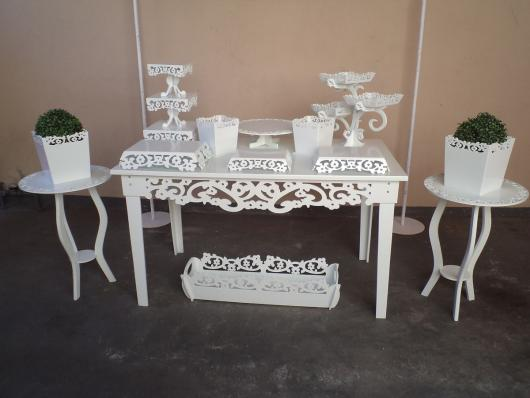 kit festa provençal simples branco