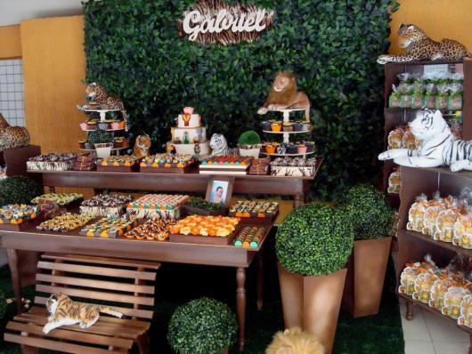 kit festa provençal na festa com madeira crua