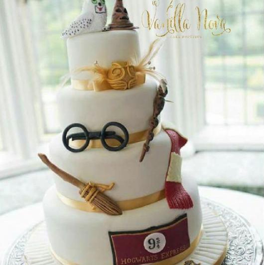 bolo Harry Potter 2 andares ou mais