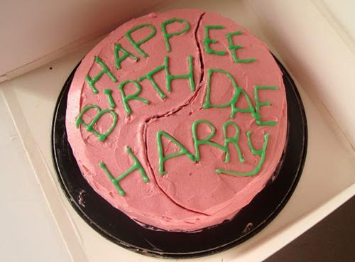bolo Harry Potter do Hagrid