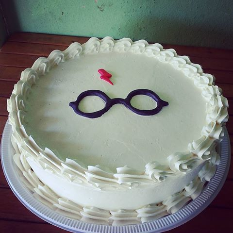 bolo Harry Potter simples