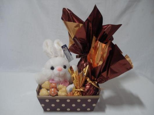 cesta de páscoa para namorado simples