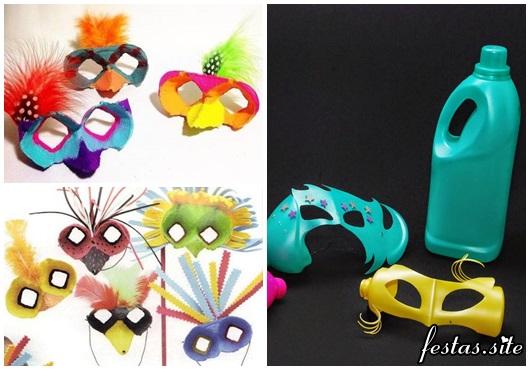 Como Fazer Máscara de Carnaval