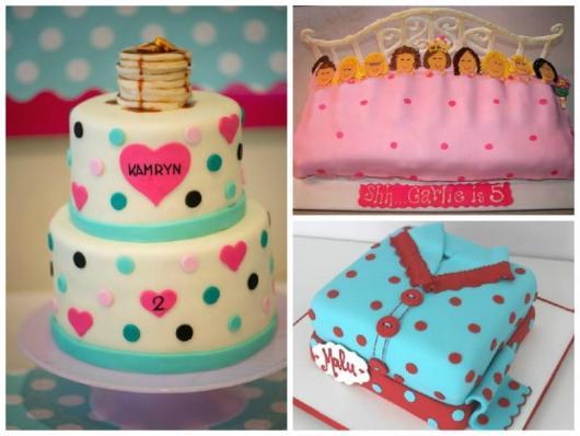 Como fazer uma festa do Pijama bolo de pasta americana com 3 versões criativas