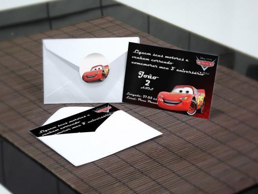 convites carros personalizado