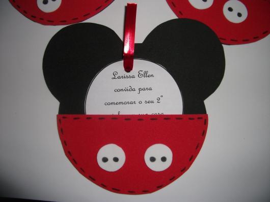 convites do Mickey em EVA