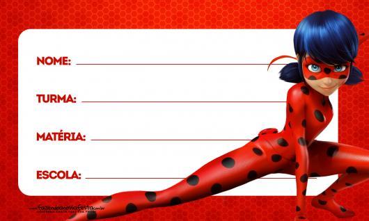 Convites Ladybug de preencher para imprimir grátis