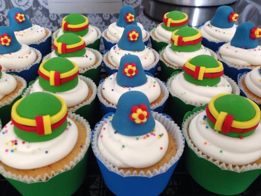 Cupcake Patati Patatá bem simples