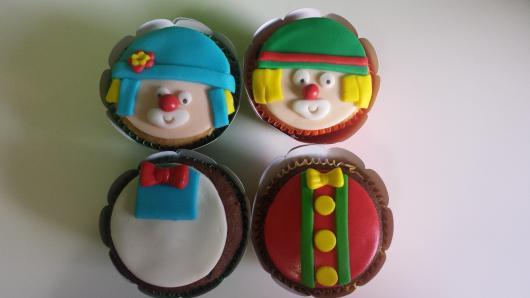Cupcake Patati Patatá simples