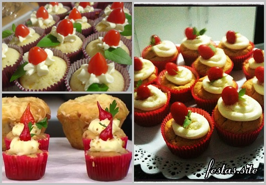 Cupcake Salgado modelos