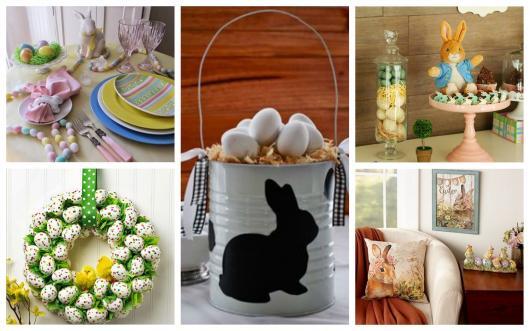 Confira diversas dicas de decoração de páscoa simples e barata