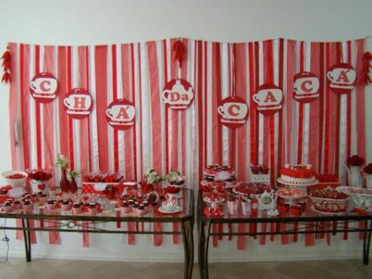 festa vermelha