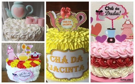ideias bolo chantilly