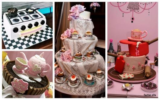 ideias criativas para bolo