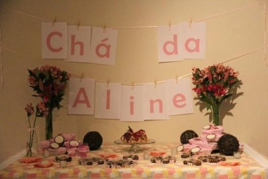 decoração barata rosa