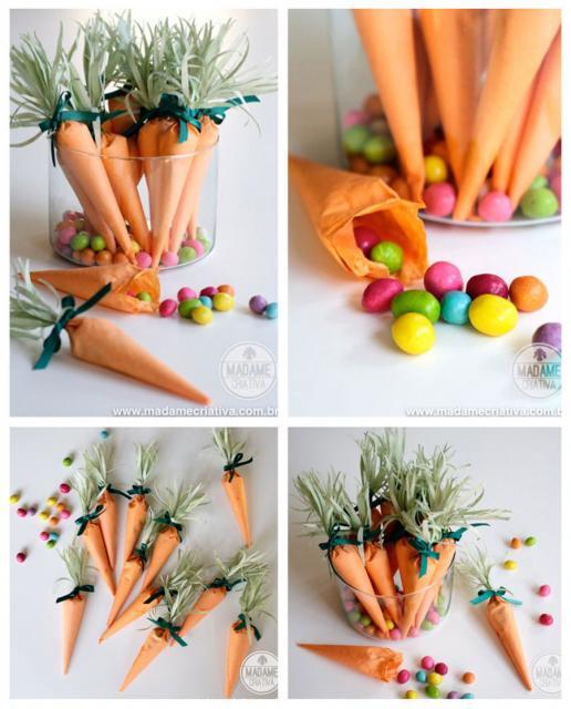 lembrancinhas decoração de páscoa simples e barata