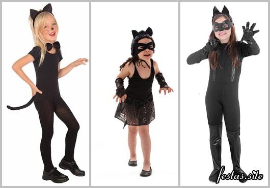Fantasia Mulher Gato infantil
