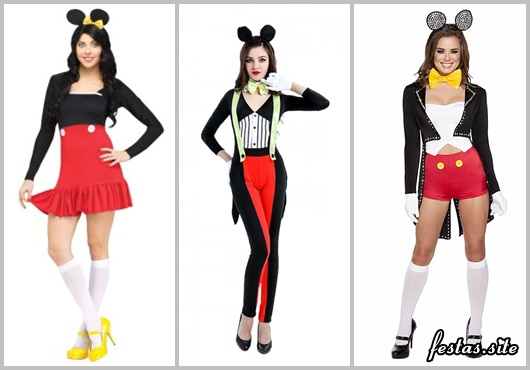 bc5d889b4eee9a Fantasia do Mickey: 35 Modelos Surpreendentes do Ratinho Mais Amado!
