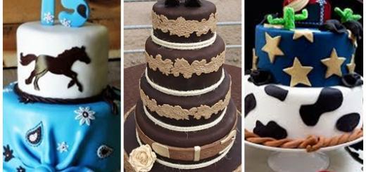 Festa Country modelos de bolo