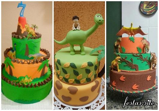 Fotos de Bolo Dinossauro Decorado