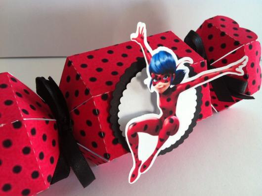 Lembrancinhas Festa Ladybug: personalizado para colocar bombons